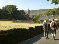 Walking in Edale in the Peak District with PH Holidays