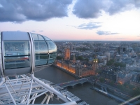London from the London Eye with PH Holidays