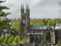 The Cathedral of the Peak, Tideswell in the Peak District with PH Holidays