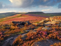 Burbage Moor in the Peak District with PH Holidays